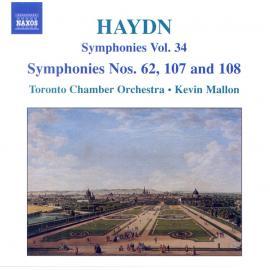 Symphonies Vol. 34 - Symphonies Nos. 62, 107 And 108 - Joseph Haydn