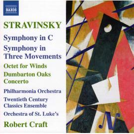 Symphony In C / Symphony In Three Movements / Octet For Winds / Dumbarton Oaks Concerto - Igor Stravinsky