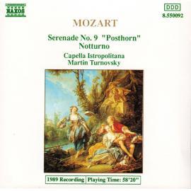 "Serenade No. 9 ""Posthorn"" / Notturno - Wolfgang Amadeus Mozart"
