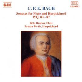 Sonatas For Flute And Harpsichord WQ. 83 - 87 - Carl Philipp Emanuel Bach