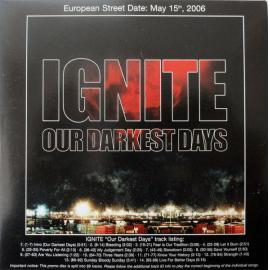 Our Darkest Days - Ignite