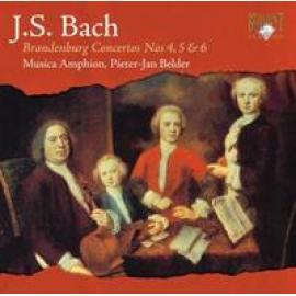 BRANDENBURG CONCERTOS 4-6 - J.S. BACH