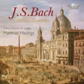 ITALIAN CONCERTOS ARRANGE - J.S. BACH