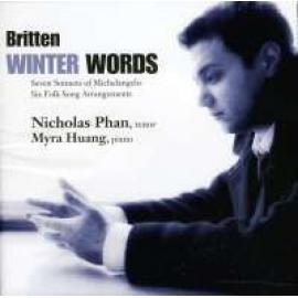 WINTER WORDS - B. BRITTEN