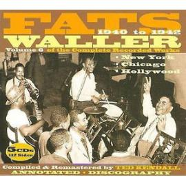 Volume 6 Of The Complete Recorded Works - Fats Waller