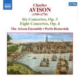 Concertos, Opp. 3 & 4 - Charles Avison