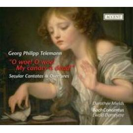 SECULAR CANTATAS/OVERTURE - G.P. TELEMANN