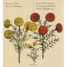 Sei Sonate Di Cembalo E Violino Obbligato, Op.5 - Luigi Boccherini