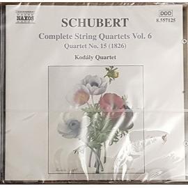 Complete String Quartets Vol. 6 / Quartet No. 15 (1826) - Franz Schubert
