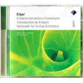 Enigma Variations / Cockaigne / Introduction & Allegro / Serenade For String Orchestra - Sir Edward Elgar