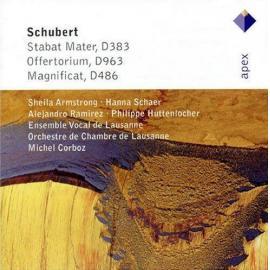 Stabat Mater, D383 · Offertorium, D963 · Magnificat, D486 - Franz Schubert