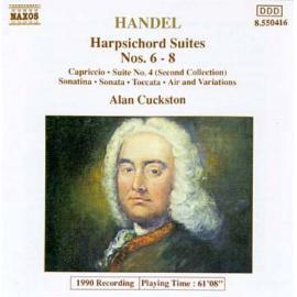 Harpsichord Suites Nos. 6-8 - Georg Friedrich Händel