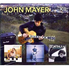 3CD ROOM FOR SQUARES - HEAVIER THINGS - CONTINUUM - John Mayer