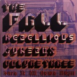 Rebellious Jukebox Volume Three (Burn It All Down Live!!) - The Fall
