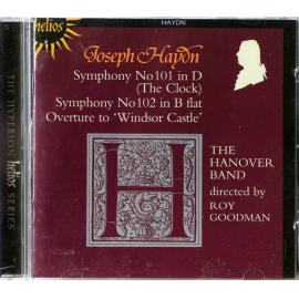 Symphonies Nos 101 ('The Clock'), 102, Overture To  'Windsor Castle'  - Joseph Haydn