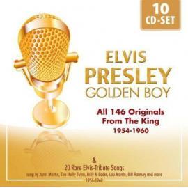 Golden Boy  (All 146 Originals From The King 1954-1960 & 20 Rare Elvis-Tribute Songs) - Elvis Presley