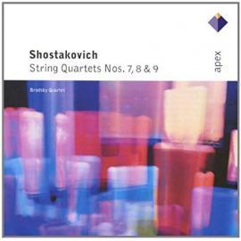 Streichquartette Nr. 7, 8 & 9 - Dmitri Shostakovich