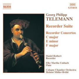 Recorder Suite / Recorder Concertos - Georg Philipp Telemann