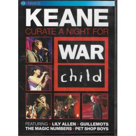Curate A Night For War Child - Keane