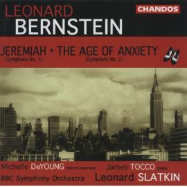 Jeremiah, Symphony No. 1 / The Age Of Anxiety, Symphony No. 2 - Leonard Bernstein