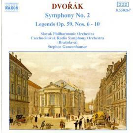 Symphony No. 2 / Legends Op. 59, Nos. 6-10 - Antonín Dvořák