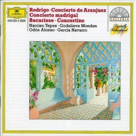 Concierto De Aranjuez / Concierto Madrigal / Concertino - Joaquín Rodrigo