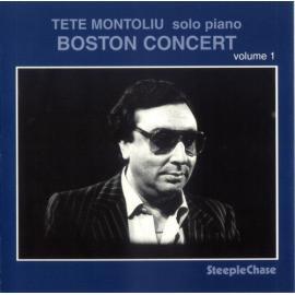 Boston Concert Volume 1 - Tete Montoliu