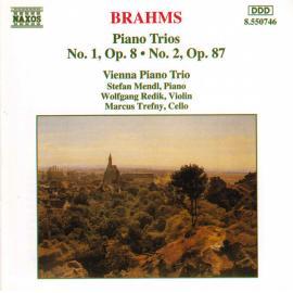 Piano Trios No. 1, Op. 8 · No. 2, Op. 87 - Johannes Brahms