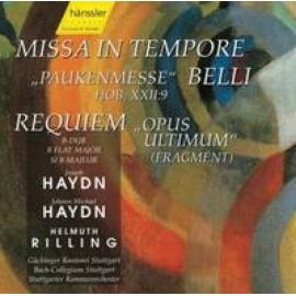 MISSA IN TEMPORE BELLI/RE - J.M./J.HAYDN HAYDN