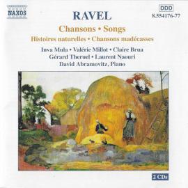 Chansons • Songs / Histoires Naturelles • Chansons Madécasses - Maurice Ravel
