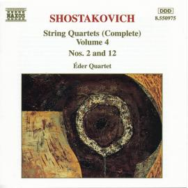 String Quartets (Complete) Volume 4 Nos. 2 And 12 - Dmitri Shostakovich