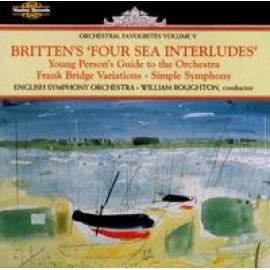 FOUR SEA INTERLUDES FROM - B. BRITTEN