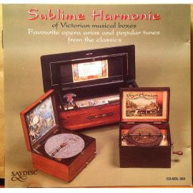 The Sublime Harmonie Of Victorian Musical Boxes - Noontime Artist Management