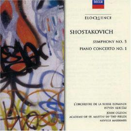 Symphony No. 5 / Piano Concerto No. 1 - Dmitri Shostakovich