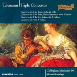 TRIPLE CONCERTOS - G.P. TELEMANN