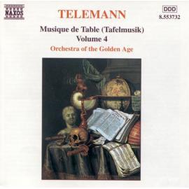 Musique De Table (Tafelmusik) Volume 4 - Georg Philipp Telemann