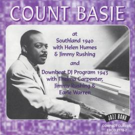 At Southland 1940 And Downbeat DJ Program 1943 - Count Basie
