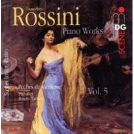 PIANO WORKS VOL.5:PECHES - G. ROSSINI