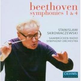 SYMPHONIES NO.1 & 4 - L. VAN BEETHOVEN