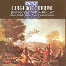FLUTE QUINTETS - L. BOCCHERINI