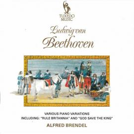 """Various Piano variations Including: """"Rule Britannia"""" and """"God Save the King"""" - Alfred Brendel"""