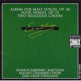 MUSIC FOR CHOIR - E. GRIEG