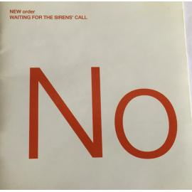 Waiting For The Sirens' Call - New Order