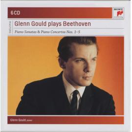 Glenn Gould Plays Beethoven (Piano Sonatas & Piano Concertos Nos. 1-5) - Glenn Gould