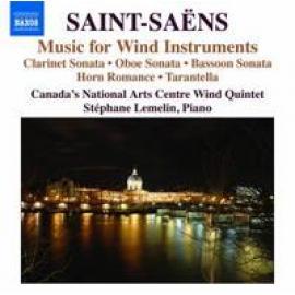 MUSIC FOR WIND INSTRUMENT - C. SAINT-SAENS