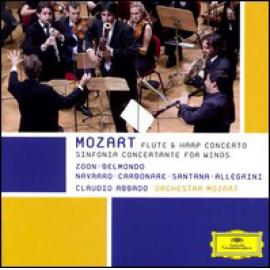 Flute & Harp Concerto, Sinfonia Concertante For Winds - Wolfgang Amadeus Mozart