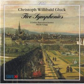 Five Symphonies - Christoph Willibald Gluck