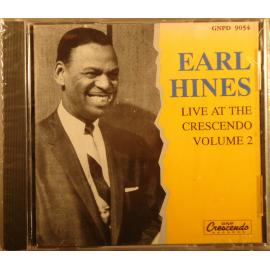 Live At The Crescendo Volume 2 - Earl Hines