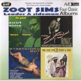 Leader & Sideman, Four Classic Albums: Stretching Out / Starring Zoot Sims / Down Home / The Jazz Soul Of Porgy And Bess - Zoot Sims