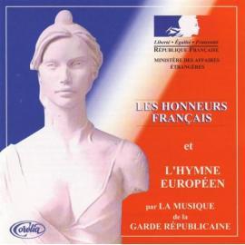LES HONNEURS FRANCAIS  - GARDE REPUBLICAINE